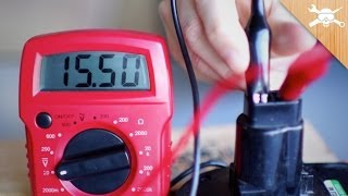 Power Tool! Use a Digital Multimeter To Find Voltage, Resistance, & Amperage!