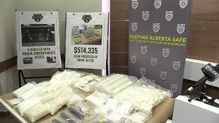 Alberta Police bust drug pipeline from Vancouver