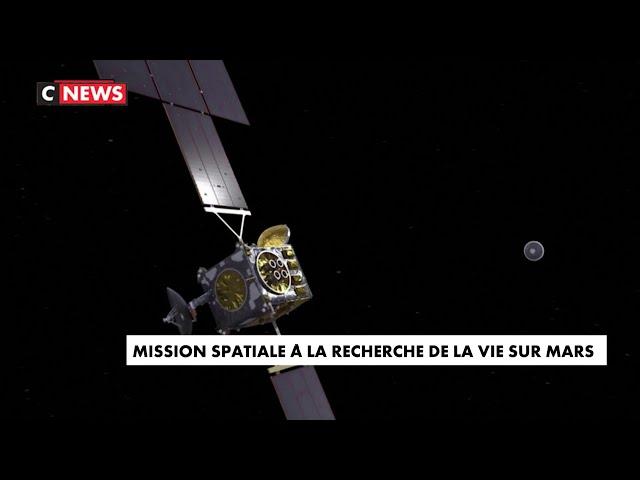 Mission spatiale à la recherche de la vie sur Mars