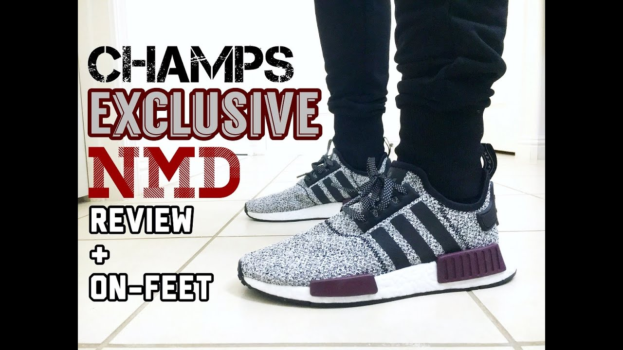 044901878 Adidas NMD (Champs Exclusive) Review + On-Feet - YouTube