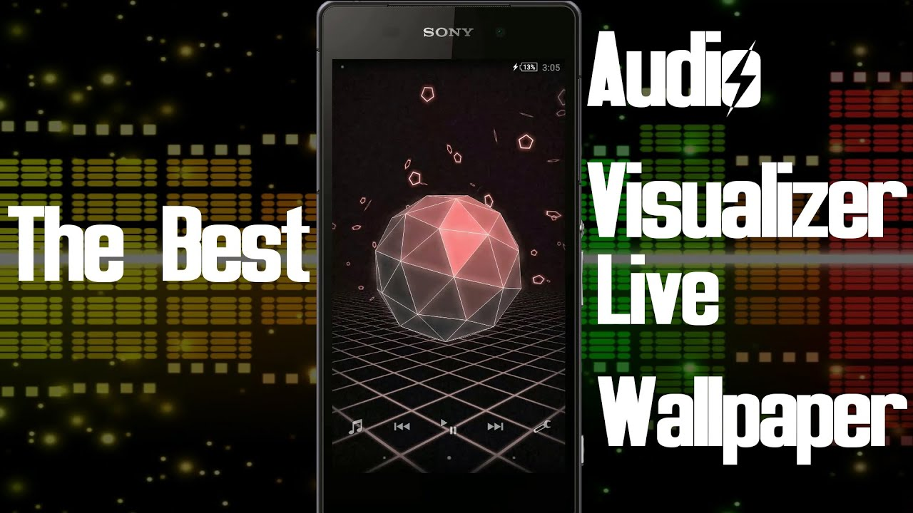 best audio visualizer live wallpaper app