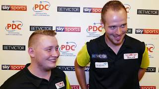 Max Hopp and Martin Schindler - Team Germany through first round