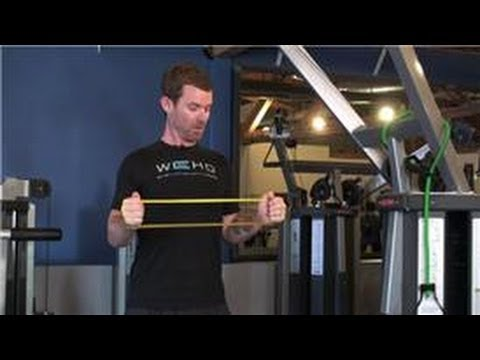 Training & Resistance Exercises : How to Use Resistance Bands to Do Isometric Exercises