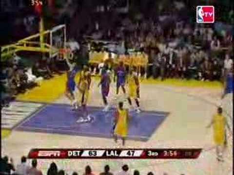 06-07 Nov.10 NBA Season Game 7 Lakers vs Pistons@Staples