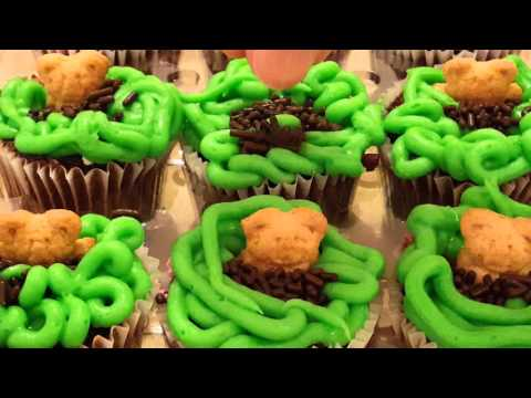 GROUNDHOG'S DAY CUPCAKES