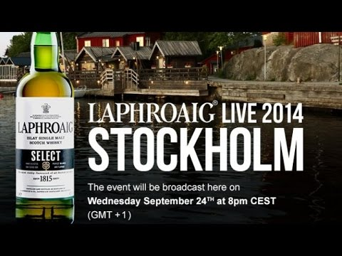 LAPHROAIG LIVE 2014 COMES TO STOCKHOLM