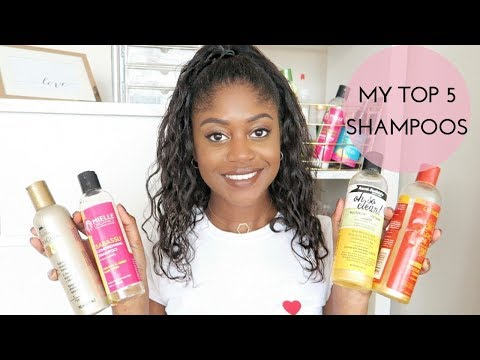 MY TOP 5 SHAMPOOS FOR HEALTHY RELAXED HAIR   Healthy Hair Junkie