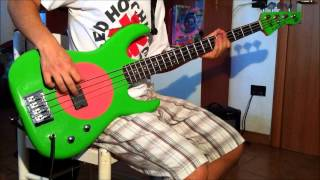 Red Hot Chili Peppers - Subway To Venus [Bass Cover]
