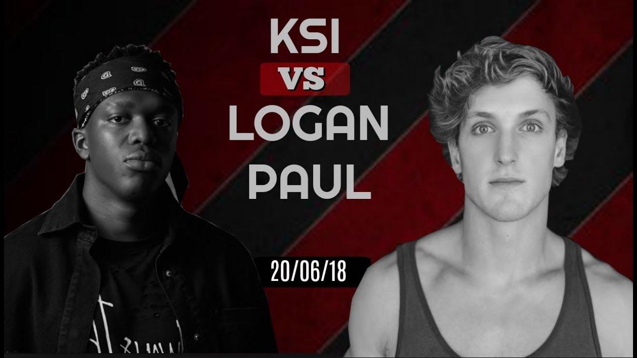KSI VS Logan Paul *OFFICIAL FIGHT DATE* - YouTube