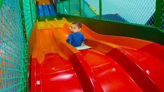 Playground Slide Song Nursery Rhymes & Kids Songs 키즈카페 미끄럼틀 인기 동요 놀이 어린이 노래