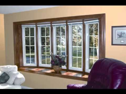 DIY Living room bay window decorating ideas - YouTube