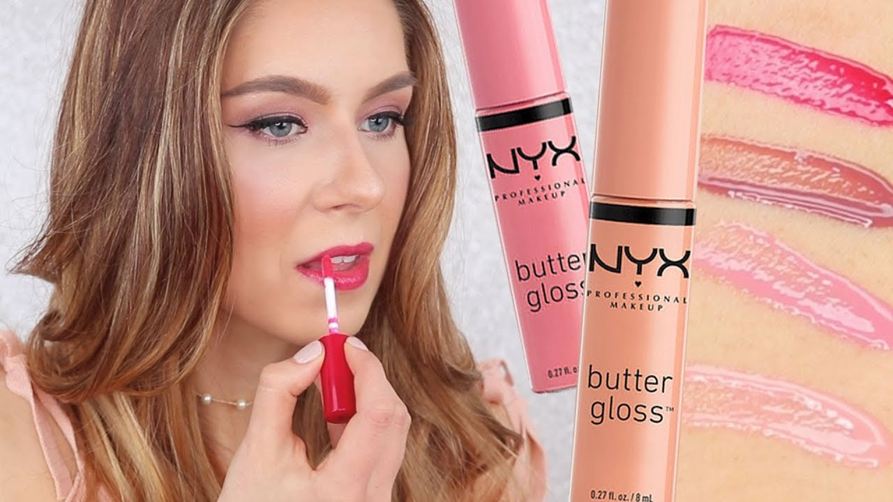 Nyx Butter Gloss Review Swatches Youtube