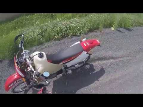 XR650R on and off road riding