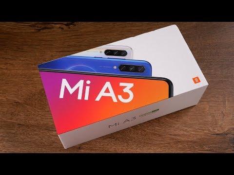Распаковка Mi A3 - смотрим что в коробочке...