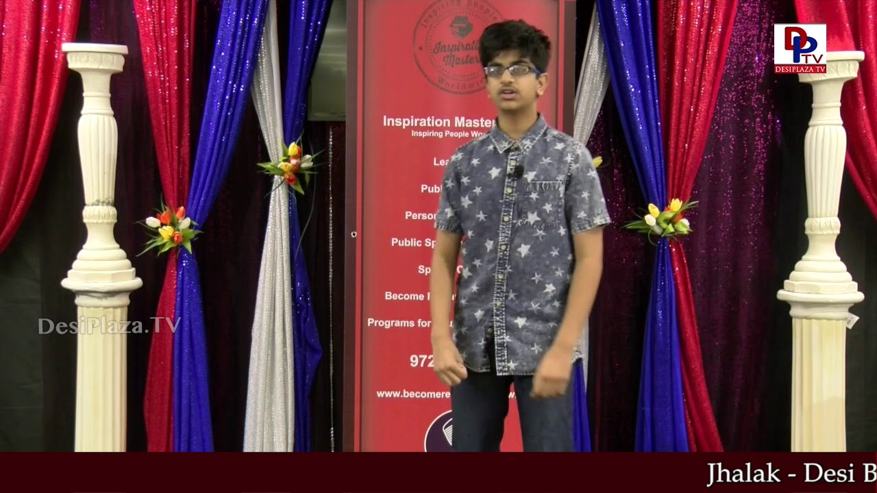 """Gaurav talks about """"Ecosystems"""" at Talking Bee - Public Speaking Competitions 2018 
