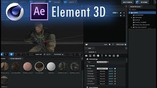 Element 3D Tutorial - Import OBJ Sequences from Cinema 4D into E3D with Textures