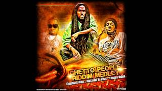Yaniss Odua, Matinda Di Lion & Elephant Man - Ghetto People Riddim Medley - Remix by 187 Artwork
