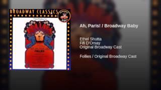 Play Ah! Paris/Broadway Baby