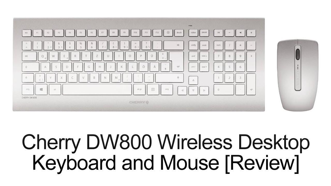 Cherry DW 8000 Wireless Desktop Keyboard & Mouse [Review ...