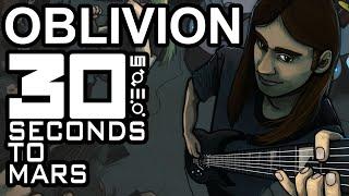30 Seconds To Mars Oblivion Guitar Cover