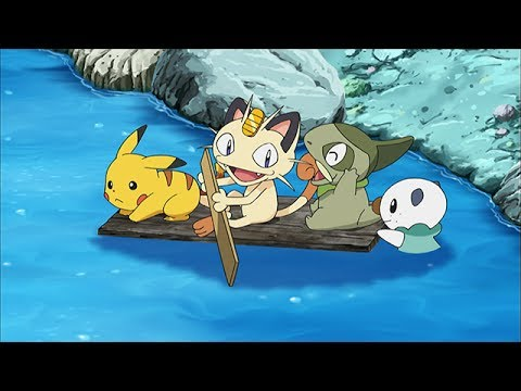 Pokemon BW: Adventures In Unova And Beyond - VIDEOS/CLIPS - Floating Meowth's Boat [HD]