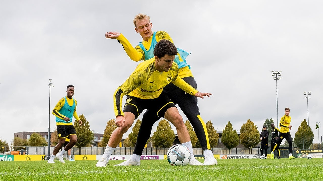 Flanken, Rondo und Torwart-Training beim BVB | Inside Training