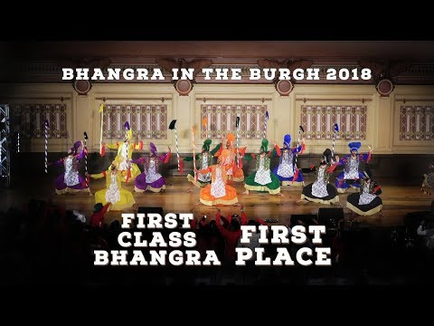 First Class Bhangra – First Place – Bhangra In The Burgh 2018