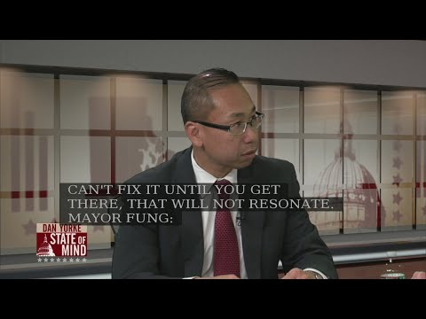 11/8: Cranston Mayor Allan Fung outlines his gubernatorial platform on State of Mind