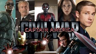 Captain America: Civil War Cast And Characters Announced