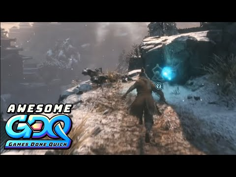 Sekiro: Shadows Die Twice by LilAggy in 1:35:53 - AGDQ2020