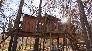 Behind The Build: English Cottage Treehouse