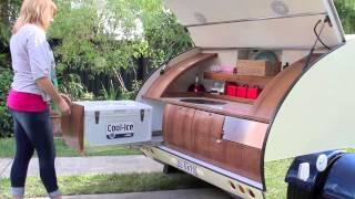 Gidget Retro Teardrop Camper - July 2013