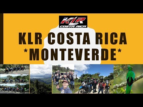 KLR Costa Rica Monteverde Trip Motocicleta America Motorcycle Adventure Dual Sport