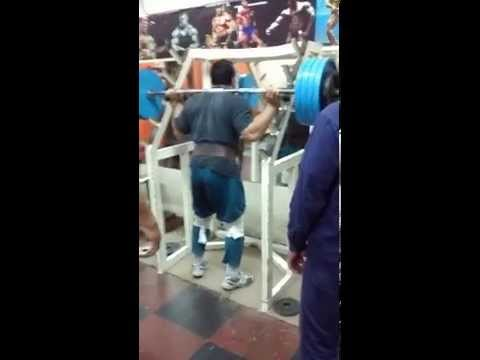 Eduardo Alcaraz 200kgs Sentadilla entrenamiento