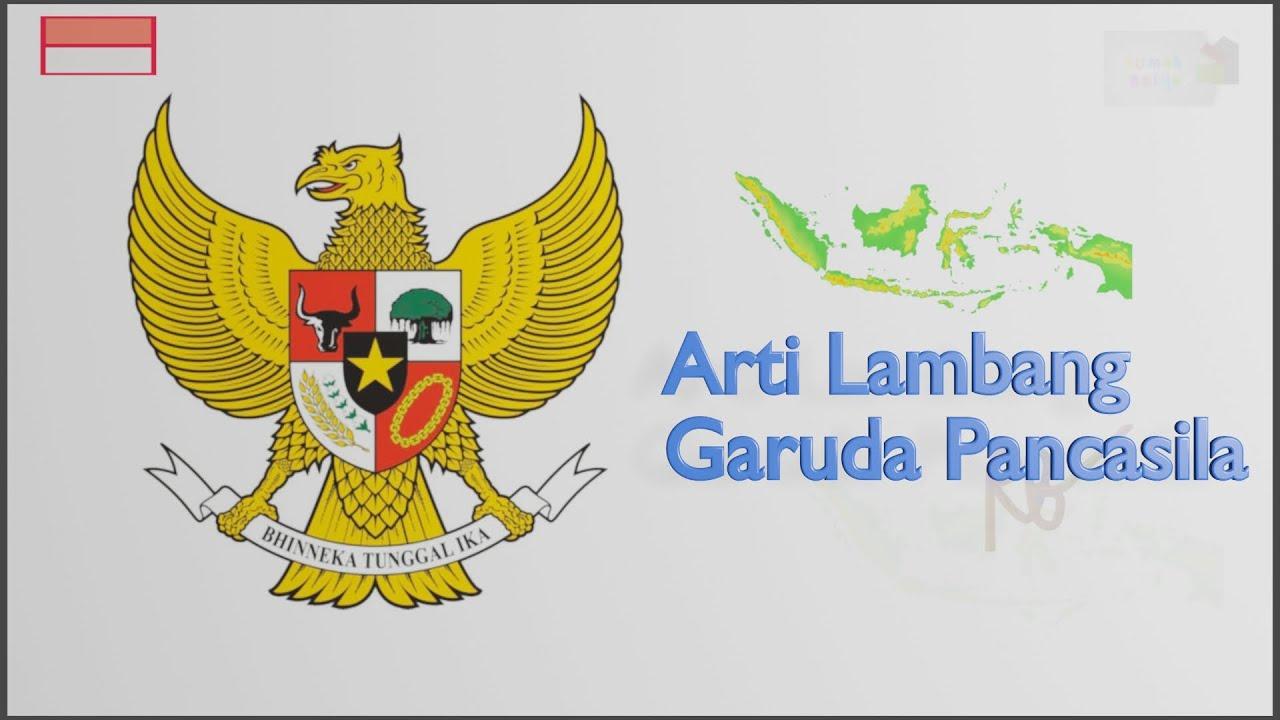 Lambang Negara Indonesia Garuda Pancasila Pelajaran Tema 8 Kelas 3 Youtube