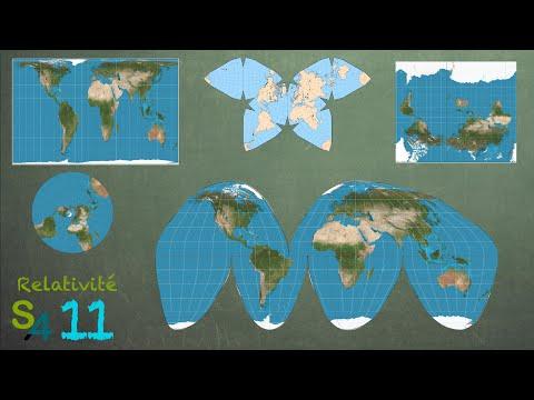 Les cartes du monde | Relativité 11