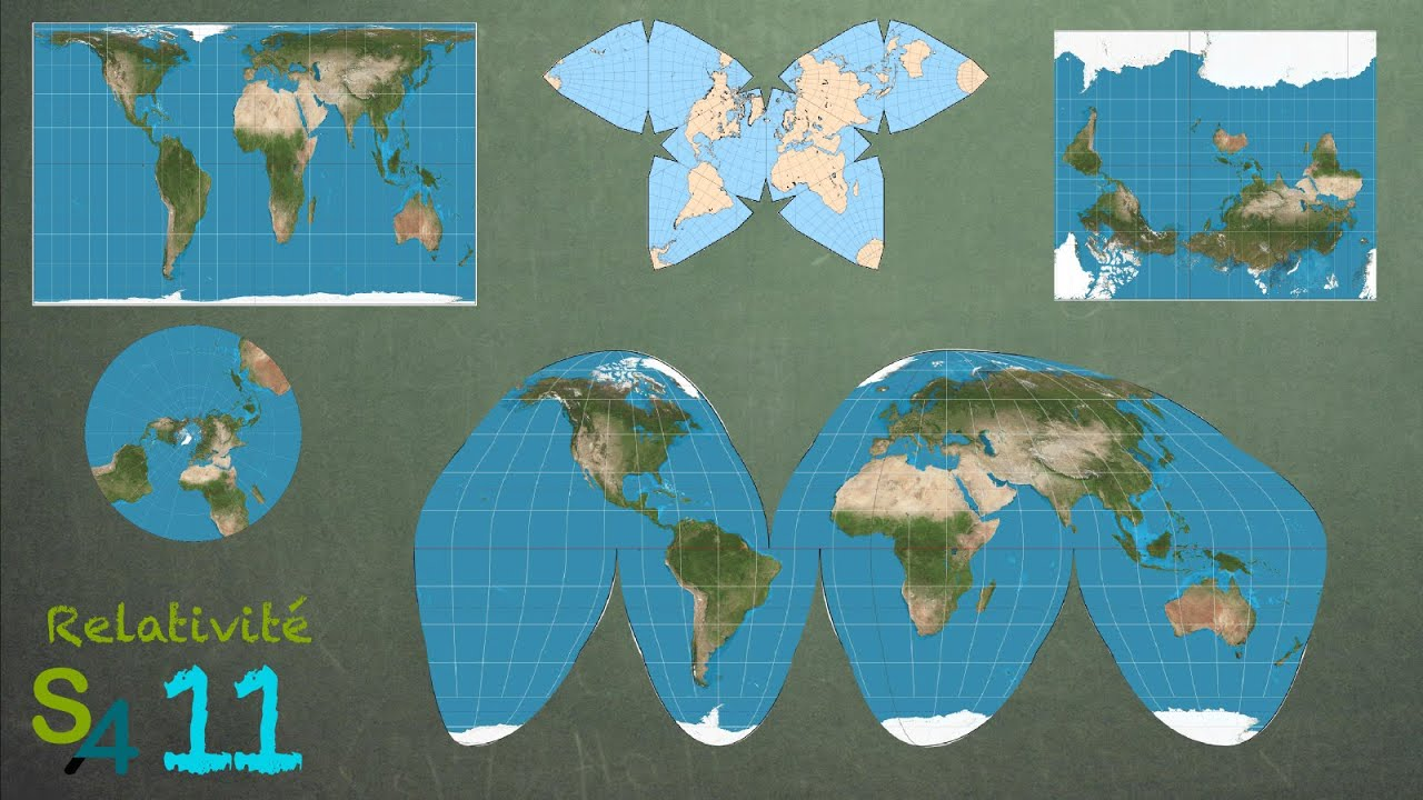 Carte Du Monde Realiste.Les Cartes Du Monde Relativite 11