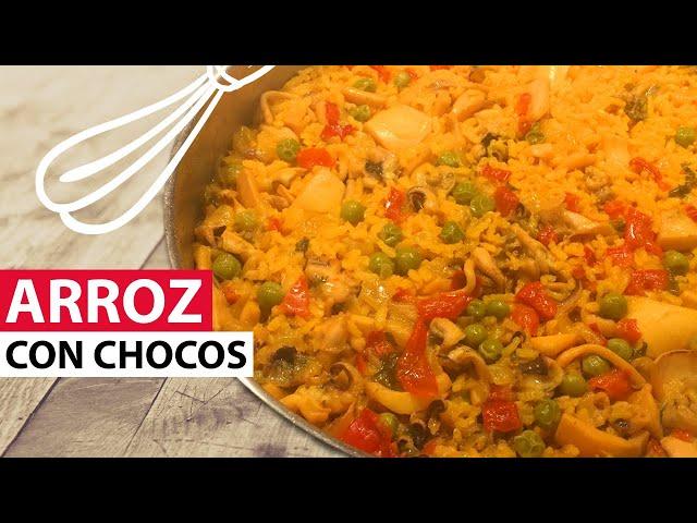 Arroz con Chocos | Lo Cocinamos Paso a Paso. Una Receta Fácil y Rápida de realizar