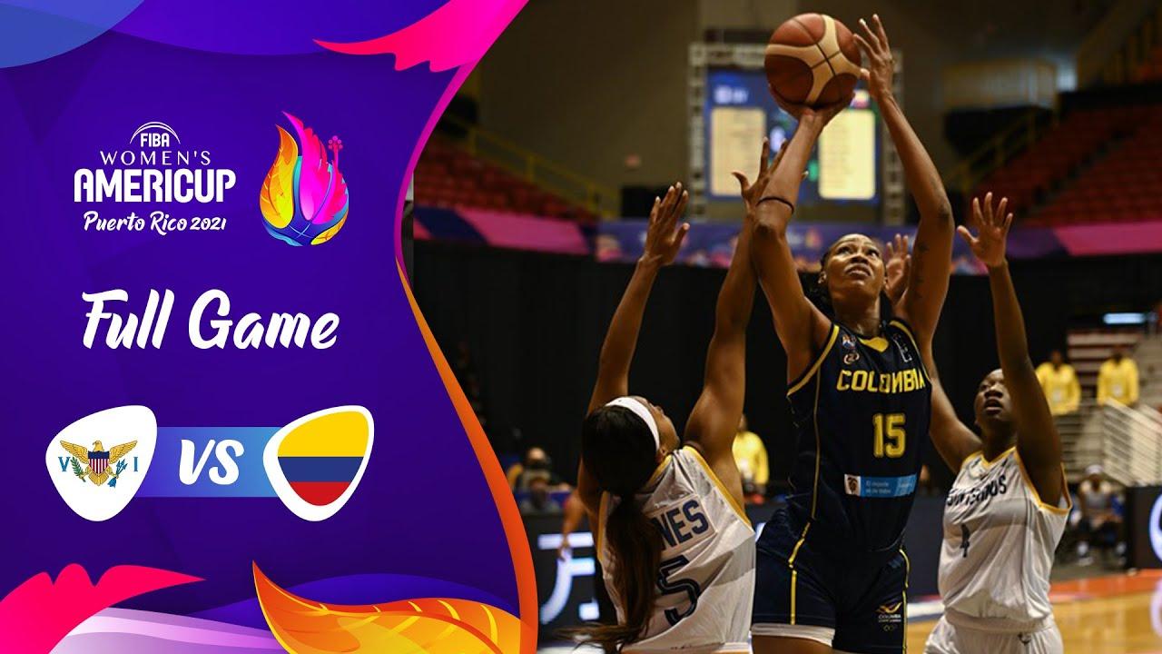 US Virgin Islands v Colombia | Full Game - FIBA Women's AmeriCup 2021