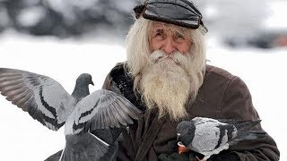 This 99 Year Old Homeless Beggar Is Always Asking For Money. The Reason Why Isn't What You Think  !
