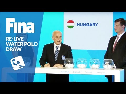 RE-LIVE - FINA World Championships 2017 - Water Polo - DRAW