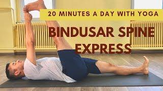 No more back ache ! 20 minutes yoga a day