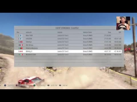 Live PS4 Broadcast Crest Autosport season 7 Historic Championship round 1