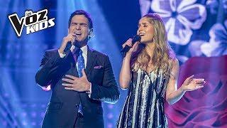 Laura Tobón se atrevió y cantó al lado de Alejandro Palacio | La Voz Kids Colombia 2018
