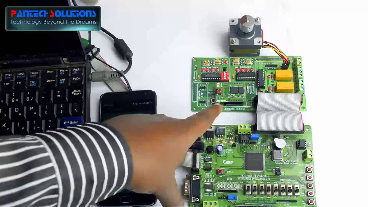 bluetooth based wireless home automation system using spartan3an fpga starter kit [ 1280 x 720 Pixel ]