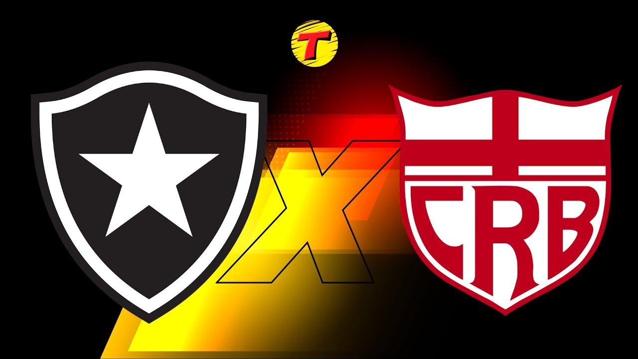 Download Botafogo x CRB-AL - Brasileirão Série B #AOVIVO (29ª Rodada) - 08/10/21