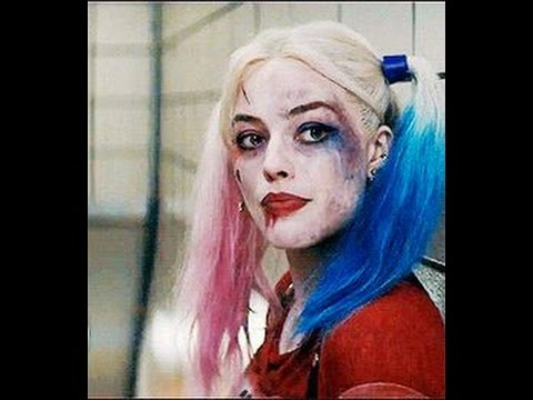 maquillage halloween harley quinn youtube. Black Bedroom Furniture Sets. Home Design Ideas