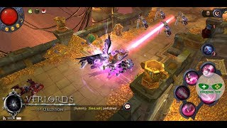Overlords of Oblivion (Android iOS APK) - MMORPG Gameplay, Gun-lancer (BETA TEST)