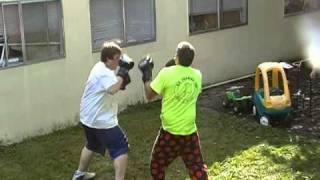 father knocked out by son