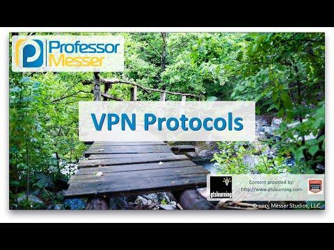 VPN Protocols - CompTIA Network+ N10-006 - 1.2